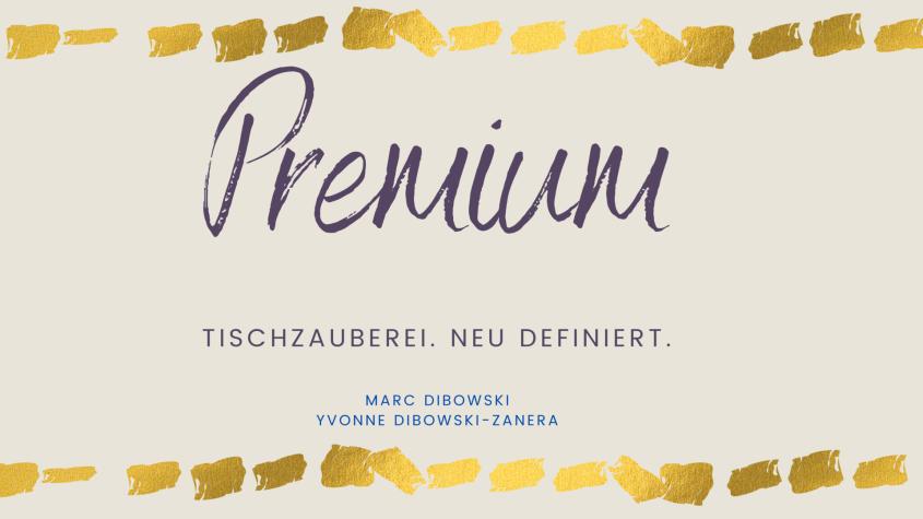 Premium Tischzauberei NRW Hochzeit Tischzauberer